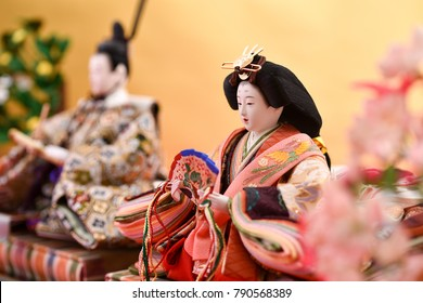 hina doll; doll displayed during the Girl's Festibal