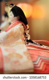 Hina doll (female doll) on Hina festival
