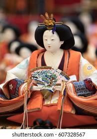 """Hina dolls"" in Japan"