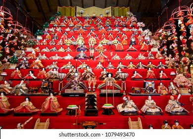 Hina Festival of Japanese traditional events. Hina Festival is an annual event of a festival praying for the healthy growth of girls in Japan.