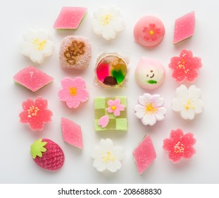 "Hinamatsuri (Girls' Day) seasonal ""wagashi"" Japanese treats"