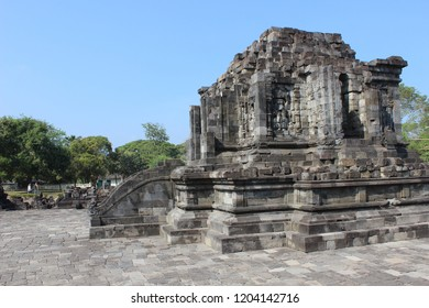 Hindu Buddha Temple In Indonesia