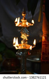 Hindu Deepam or Diya for Festivals