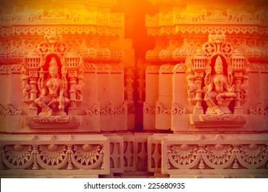 Hindu deities background