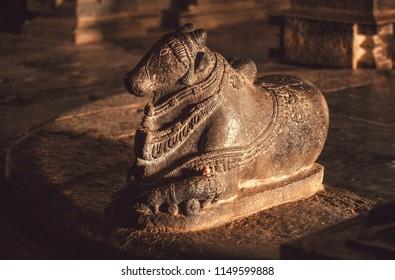 Hindu diety bull Nandi