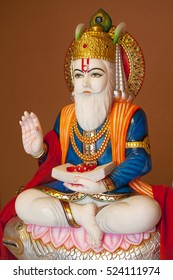 Hindu god Jhulelal. Sindhi Hindus regard him to be an incarnation of Varuna, a god of law of the underwater world. When Sindhi men venture out to sea their women pray to him for their safe return.
