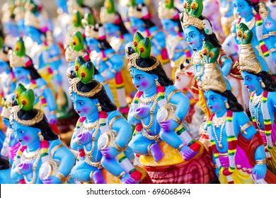 Hindu God Krishna