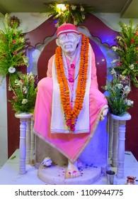 Hindu god Sai Baba.