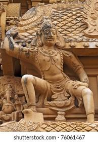 Hindu God Statue in tanjavur, Tamil Nadu, India