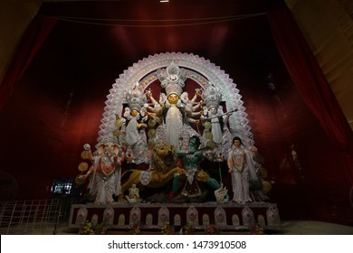 Durga Pratima Images Stock Photos Vectors Shutterstock
