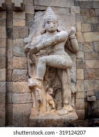 Hindu goddess sculpture