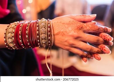 Hindu Indian wedding ceremony