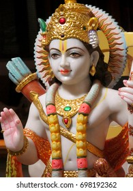 Hindu Lord Rama Marble Statue