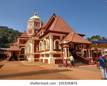 hindu mangeshkar temple in goa
