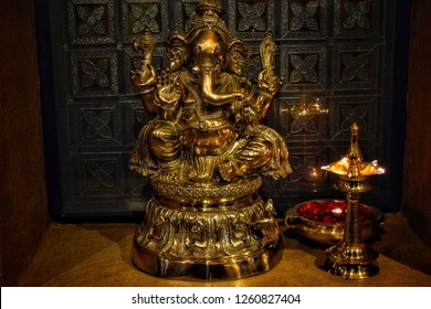 in hindu religion, Ganesha is the god of intelligence and problem solver, that is why all the prayers in india starts with || om ganeshaye namah ||.
