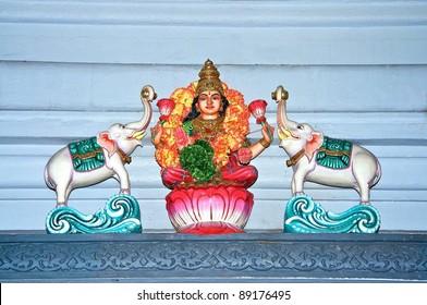 Hindu Temple Figure