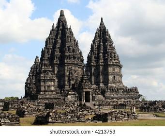 Hindu temple of Prambanan, Yogyakarta, Indonesia