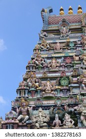 Hindu Temple in Victoria, Seychelles.