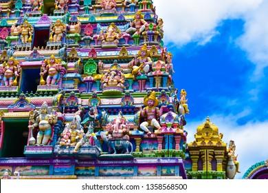 Hindu Temple - Victoria,Seychelles