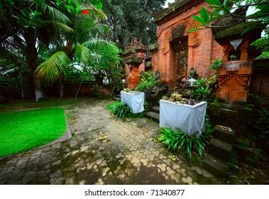 Hinduism temple. Bali