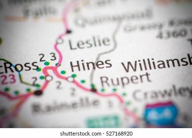 Hines. West Virginia. USA