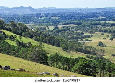 Hinterland countryside in Australia