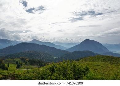 Hintersteiner lake area at Wilder Kaiser in Austria