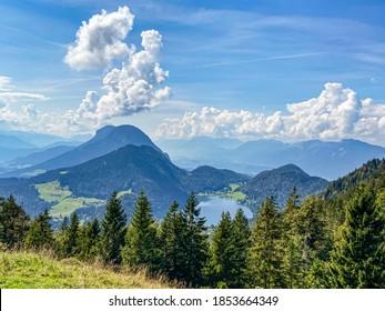 Hintersteiner See at the Kaiser Mountain, Tyrol, Austria