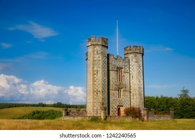Hiorne Tower outside Arundel, West Sussex, England