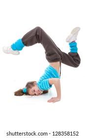 hip hop  break or street dancer