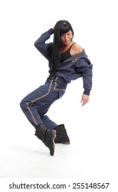 Hip hop dance moves in boots