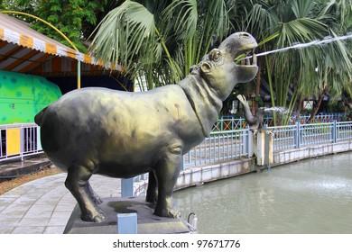 Hippo statue Fountain