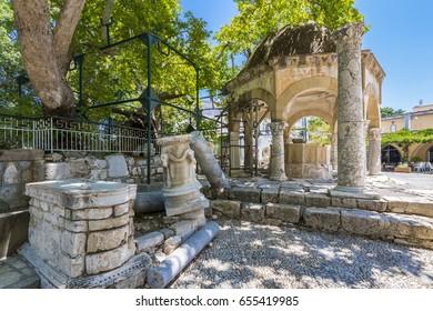 Hippocrates square view in Kos Town. Kos Island is populer tourist destination in Aegean Sea.