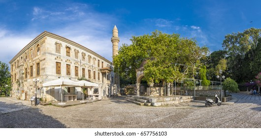 Hippocrates square view in Kos Town