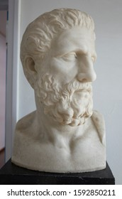 Hippocrates statue      at Athens Greece