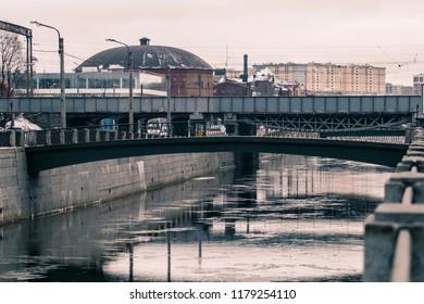hippodrome bridge, Sankt Peterburg, Russia