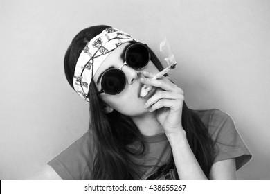 naked-white-teen-smoking-pot