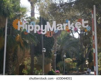 Hippy Market, Ibiza,Spain– July 11,2013