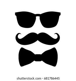 Hipster background design