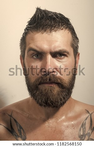 Serious face guy naked pic 93