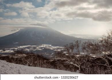 Hirafu, Niseko, Japan - January 12 2019