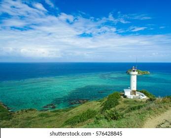 Hirakubo Cape in the north of Ishigaki island in Japan - Shutterstock ID 576428845