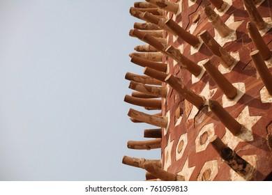Hiran Minar, dedicated to Akbar's favourite elephant