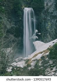 Hirayu waterfalls is chosen for top 100 waterfalls of Japan.