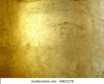 hi-res gold grunge background, raster illustration