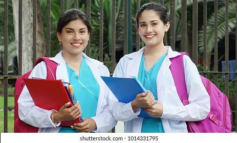 Hispanic Female Nursing Student