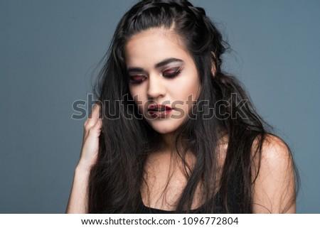 Charming Beauty modeling teen