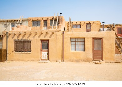 Historic Acoma Pueblo indian village in New Mexico, USA