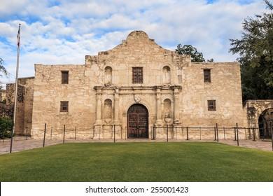 The Historic Alamo at, San Antonio, Texas.