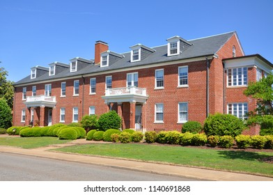 Historic apartment in Fort Monroe, Chesapeake Bay, Virginia, USA.